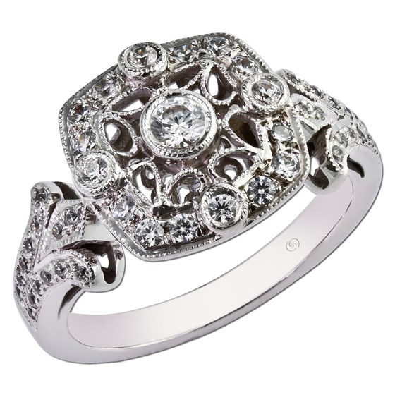 The Jewelry Box Classic Engagement Rings For The Old School Gal