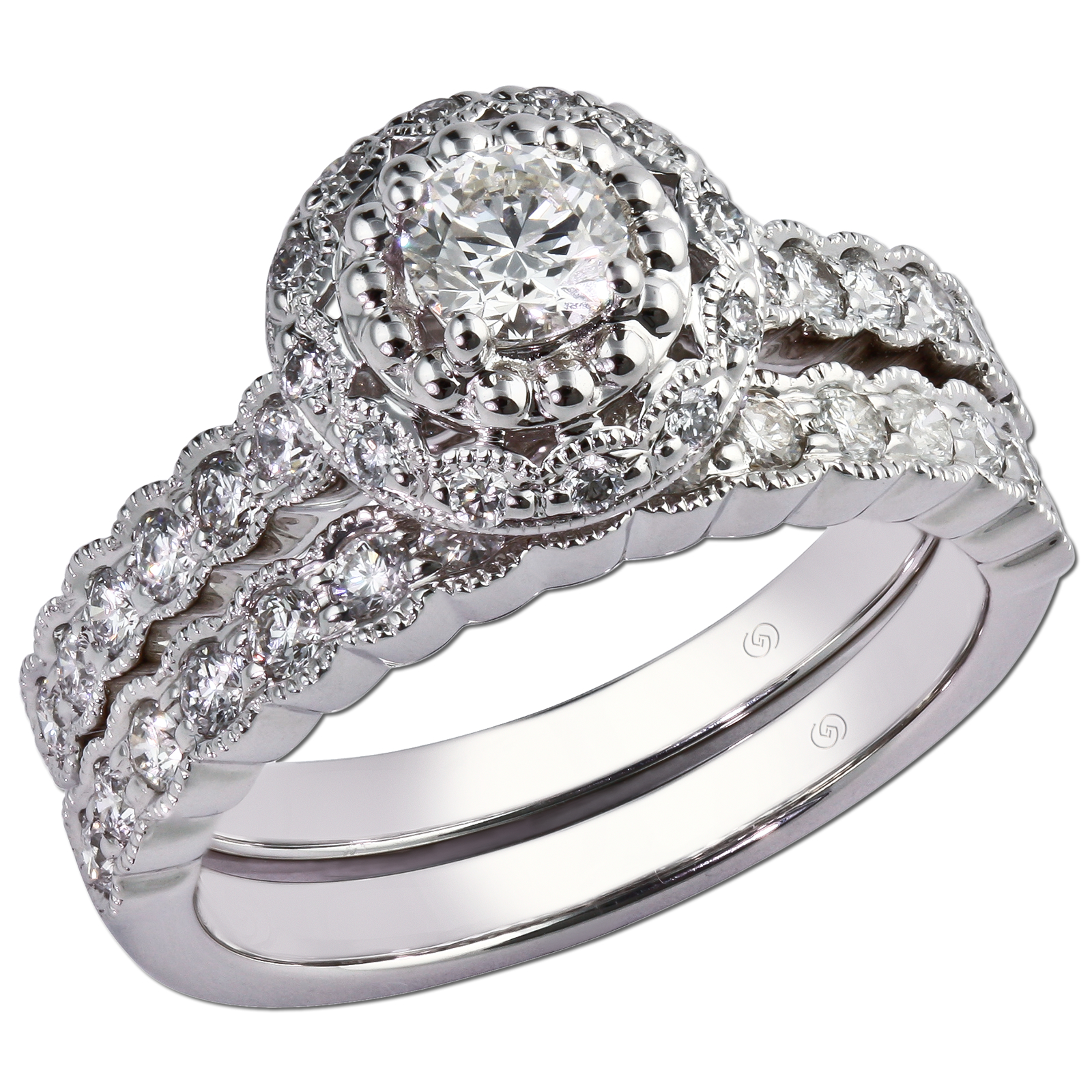 The Jewelry Box Engagement Rings Wedding Bands Combos