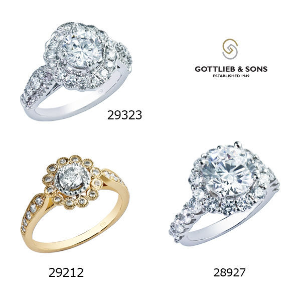Check Out These Similar Rings From The Gottlieb Sons Bridal Collection